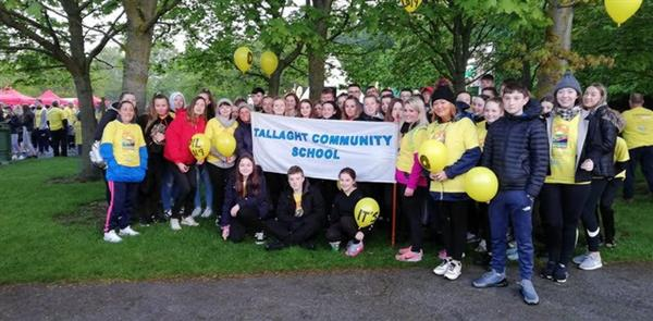 TCS support Darkness into Light