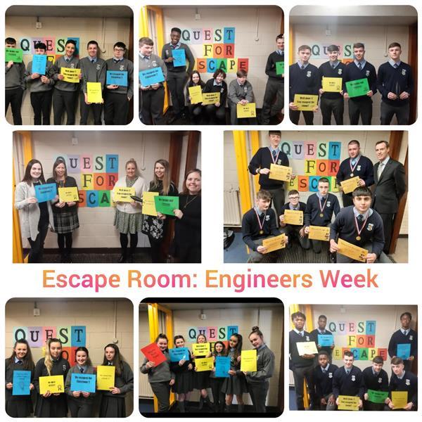 Engineers Week & TCS Escape Room