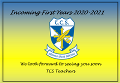 Incoming 1st Years 2020-2021