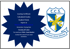 Calculated Grades Student Portal LC 2020