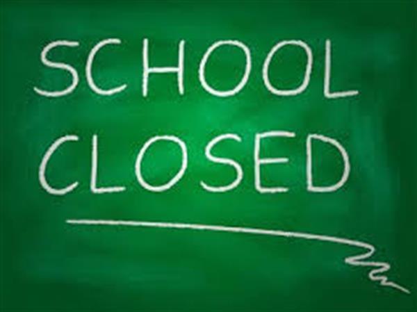 Summer Break School Closed.