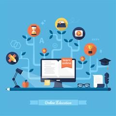 Online Learning Student Timetables